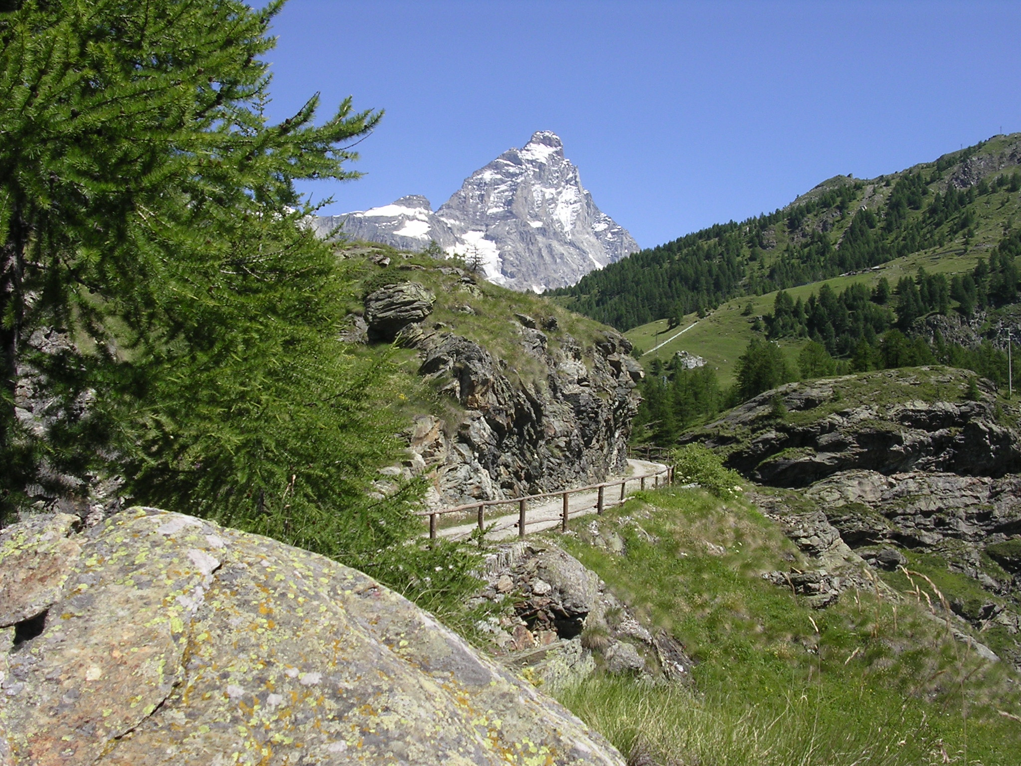 Matterhorn from Breuil-Cervinia